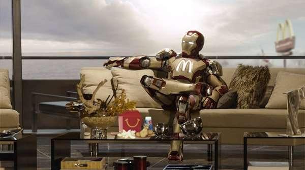 Від Папая до Супермена: фотожаби з кіногероями (12 фото)