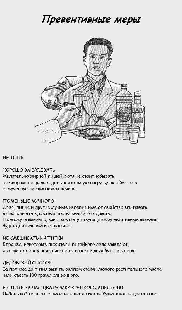 Як боротися з вертольотами під час алкогольного спяніння (7 картинок)