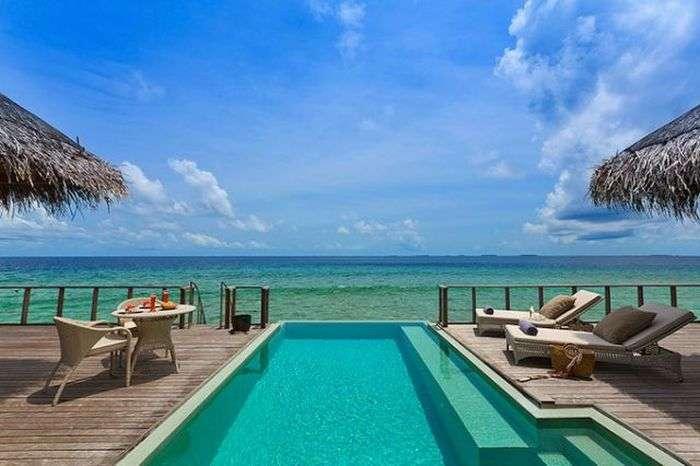 Райський острів для любителів шикарного відпочинку (36 фото)