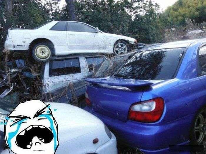 Підбірка автомобільних приколів. Частина 32 (65 фото)