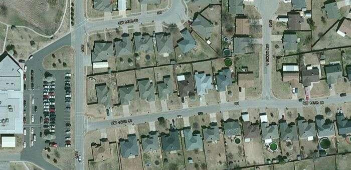 Наслідки торнадо в Оклахомі в стилі до і після (34 фото)