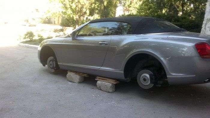 Терміново продам колеса від Bentley Continental GT (4 фото)
