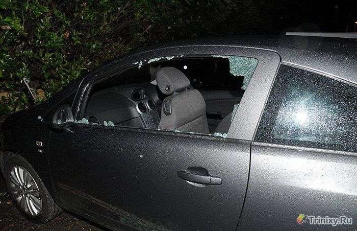Автограбители здивували навіть поліцію (3 фото)