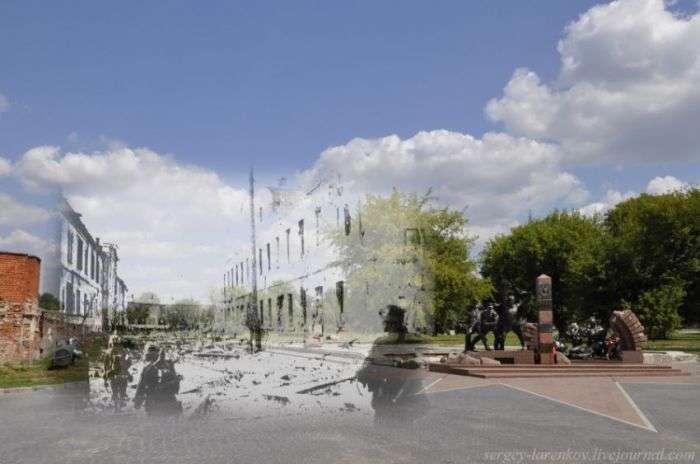 Брестська фортеця тоді і зараз (27 фото)