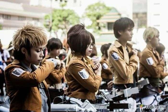 Кращий косплей з фестивалю в Таїланді (70 фото)