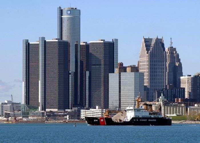 Альтернативний погляд на американський місто Детройт (28 фото)