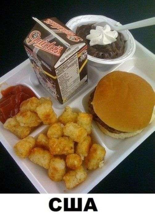 Популярні продукти і смачна їжа (14 фото)