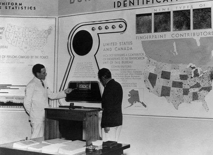 Американське відомство ФБР 30-40х років минулого століття (18 фото)