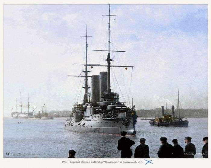 Кольорові фотографії російського флоту з минулого (20 фото)