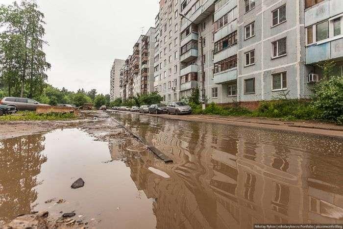 Життя в підмосковному містечку Ювілейний (40 фото)