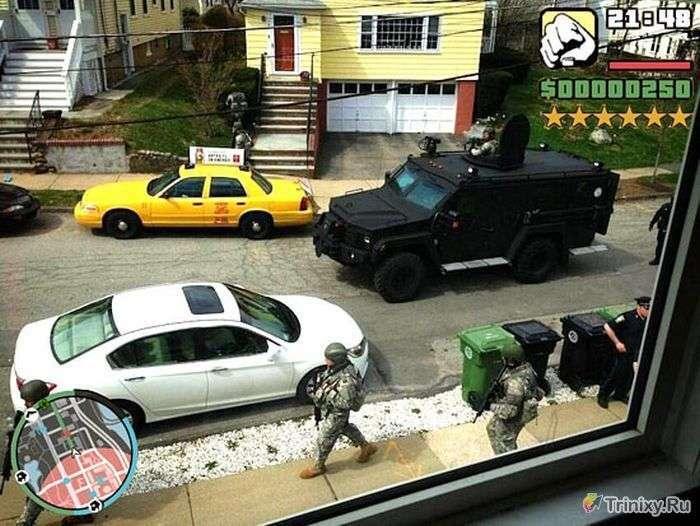Незвичайні знімки в стилі GTA, зроблені в реальному житті (20 фото)