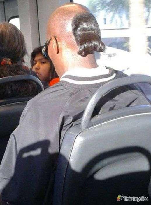 Неординарні зачіски (35 фото)