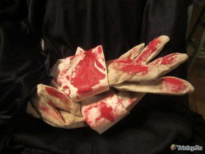 Робимо хоррор-костюм на Хеллоуїн (17 фото)
