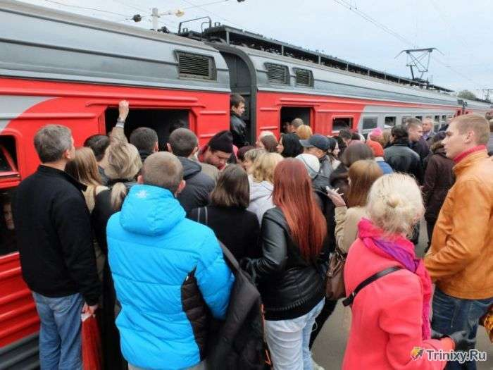 Пекло на залізничній станції Химки (7 фото + відео)