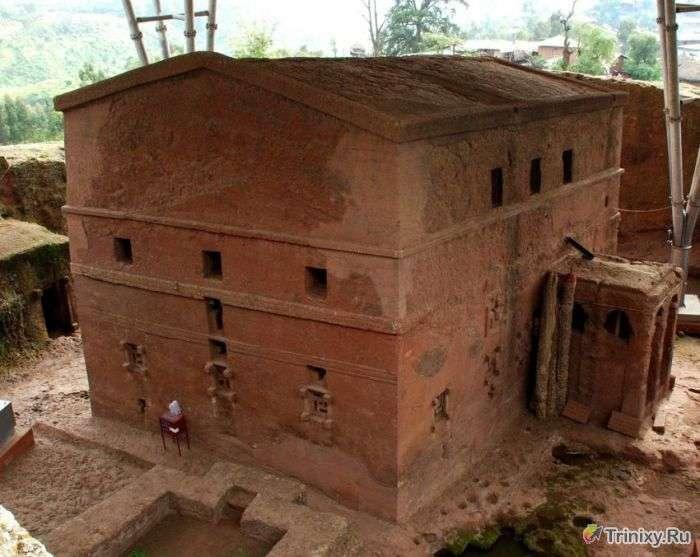 Древній комплекс церков Лалибеллы (44 фото)