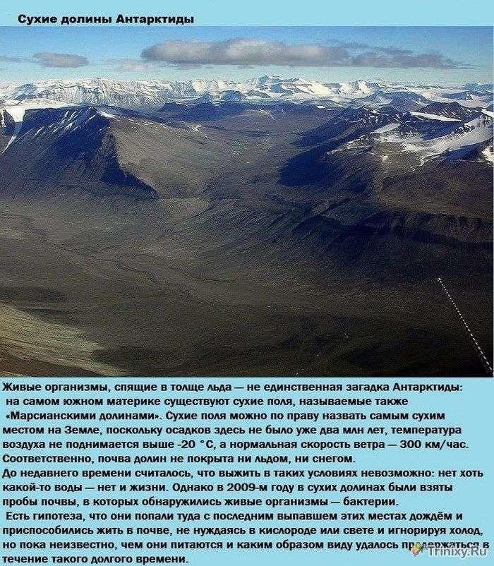 Топ-9 суворих місць нашої планети, де неможливо зародження життя (10 фото)