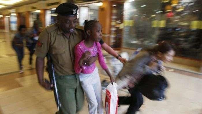 Інсценізація теракту в Кенії (6 фото)