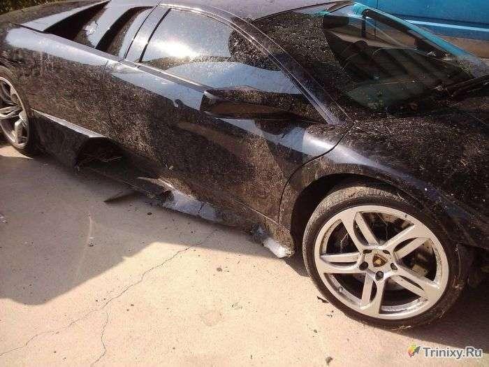 Як угробити Lamborghini за 1 день після покупки (9 фото)