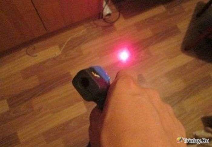 Робимо лазерне зброя в домашніх умовах (7 фото)