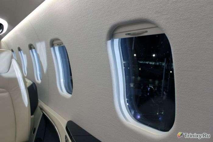 Шикарний інтерєр літака Learjet 85 (21 фото)