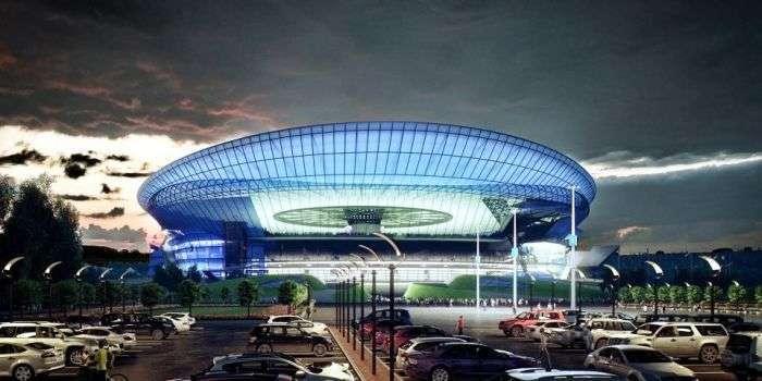Концептуальний дизайн стадіону Лужники (8 фото)