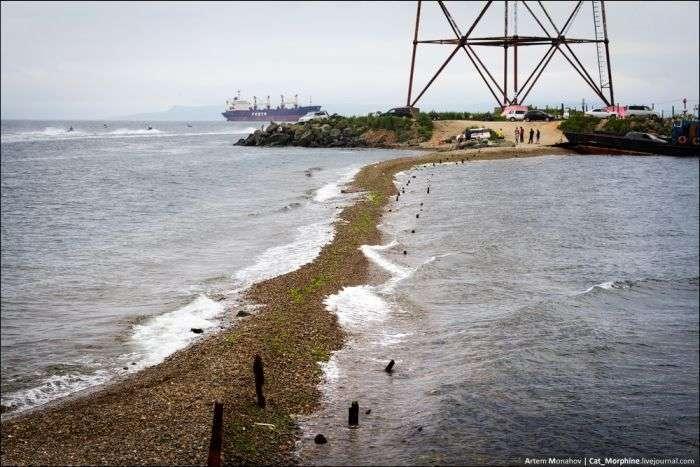 Підйом на найбільший в світі вантовий міст на острів Російський (28 фото)