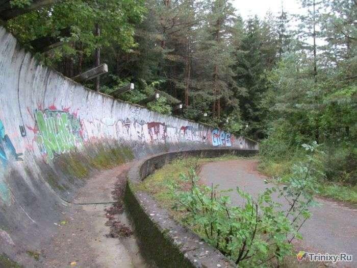 Бобслейна траса в Югославії, побудована для Олімпійських ігор 1984 року (20 фото)