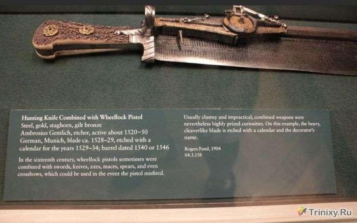 Креативне багатофункціональний холодну зброю (6 фото)