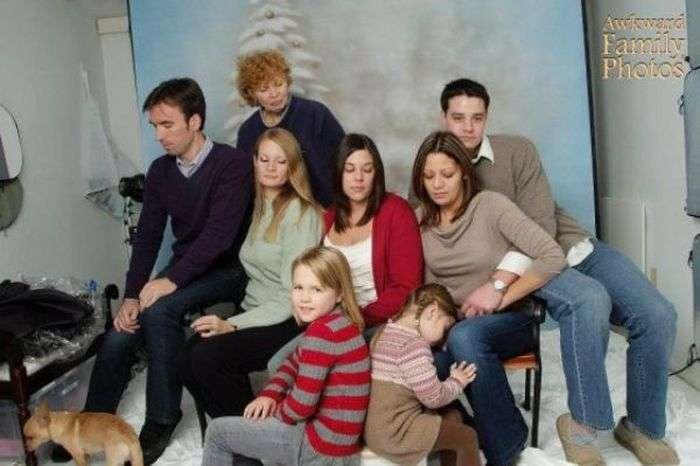 Незвичайні сімейні фотографії (45 фото)