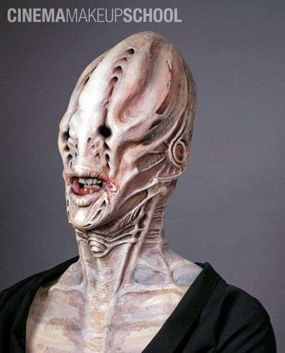 Підбірка лякаючого макіяжу (41 фото)