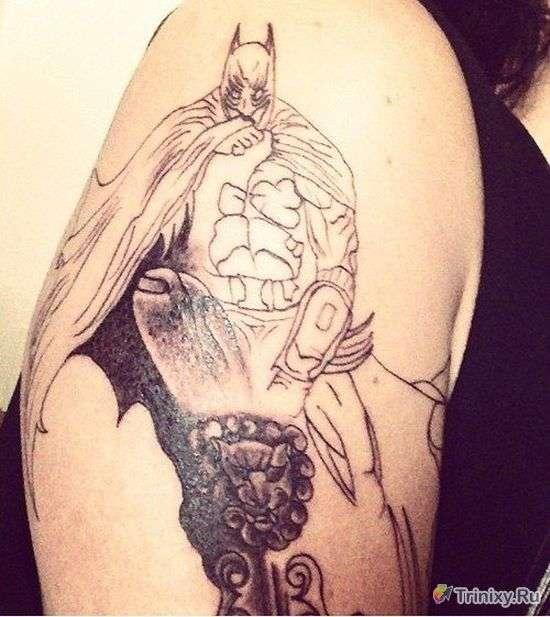 Найневдаліші татуювання (28 фото)