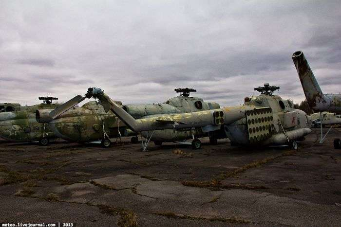 Закрита вертолітний паркінг (52 фото)