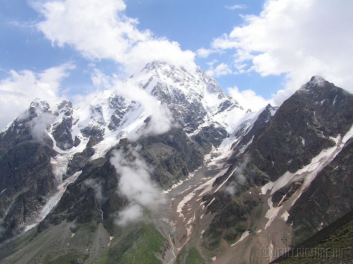 7 великих гор в России, кроме Эльбруса высокие горы