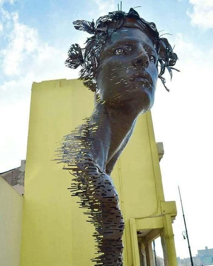 13 поразительных скульптур, которые перевернут твое представление о реальности! интересное
