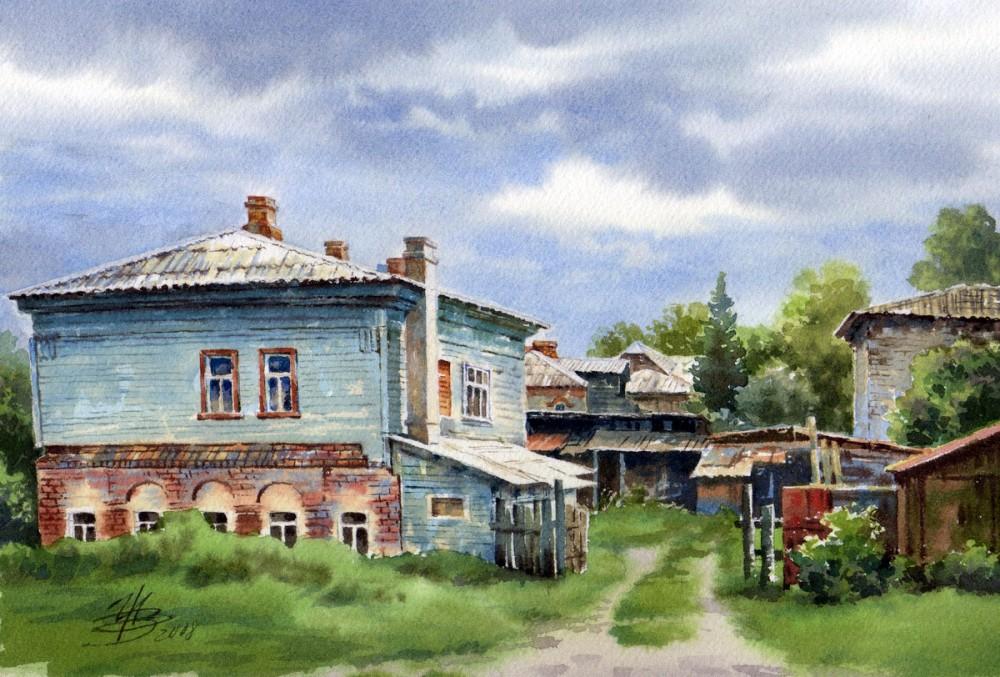 Купола. Художница Ольга Ивлева Живопись